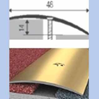 Átmenő furatos profil Arany 90 cm