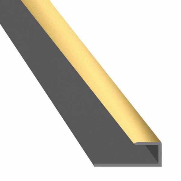 Végzáró profil Arany 2,7m
