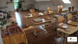 Waldorf iskola - Padlófutár, a laminált padló szakértője - Referenciák