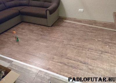 Budapest, Kárpáti utca – Padlófutár referencia laminált padló