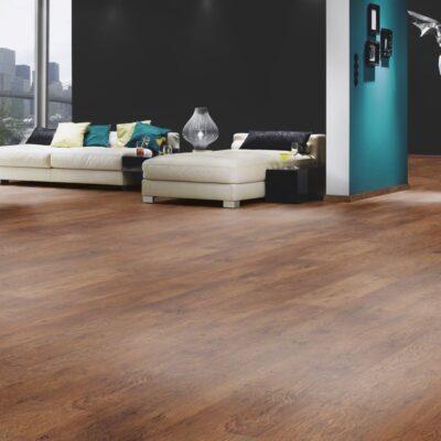 Kronostep 9195 Rustic Oak laminált padló sötétebb árnyalatú