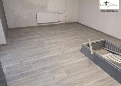 Laminált padló erősebb igénybevételhez – Padlófutár referencia