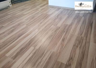 White Ash laminált padló – Padlófutár referencia