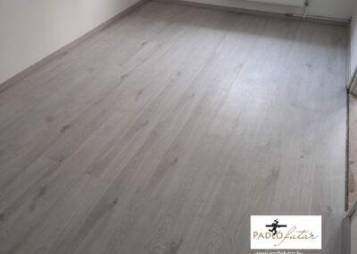 A laminált padló tökéletes lerakása vezet a kifogástalan végeredményhez!