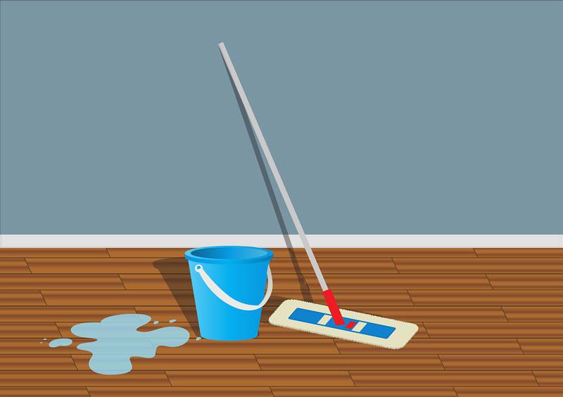 Tippek, hogy ne okozzon gondot a laminált padló tisztítása!