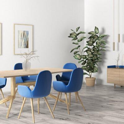 A Kronostep SPC vinyl padló R114 Duran Oak széles panel terméket magas kopásállóság és vízállóság jellemzi.